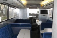 Executive single decked coach - Inside