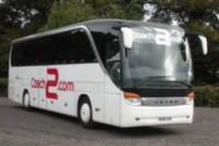 Executive single decked coach - Inside